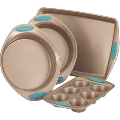 Rachael Ray Cucina Nonstick 4 Piece Bakeware Set 52389