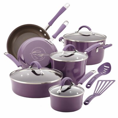 Cucina 12 Piece Non-Stick Stainless Steel Cookware Set 16783