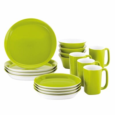Round & Square 16 Piece Dinnerware Set 58094