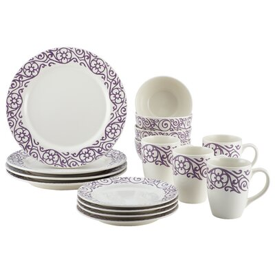 Cucina 16 Piece Dinnerware Set, Service for 4 46238
