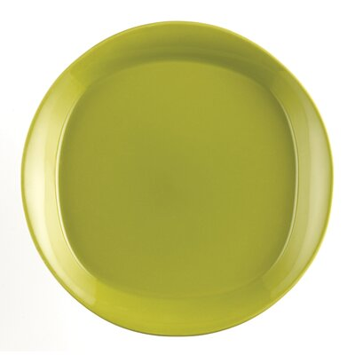Dinnerware Round And Square 4 Piece Salad Plate Set In Green Apple