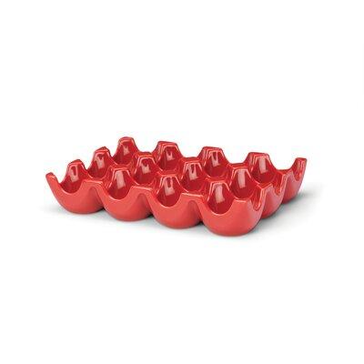 Serveware 12 Cup Egg Tray sittin Pretty Color-red