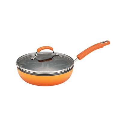 Rachael Ray Porcelain II Nonstick Covered Deep Skillet 12820