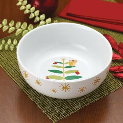 Rachael Ray Holiday Hoot Salad Bowl 58342