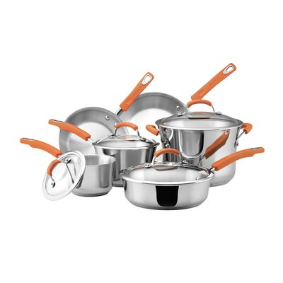 10 Piece Stainless Steel Cookware Set 75813