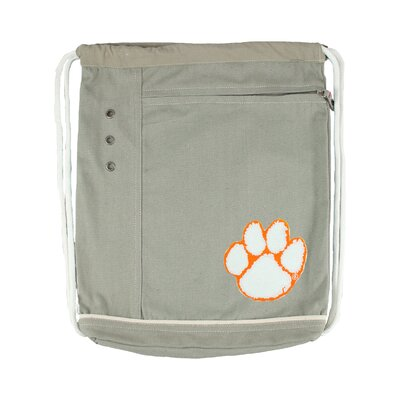 Little Earth NCAA Old School Cinch Bag - Color: Natural, NCAA Team: Washington State Cougars at Sears.com