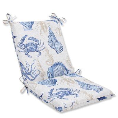 Sealife Outdoor Chair Cushion Fabric: Marine