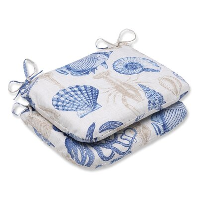 Sealife Outdoor Seat Cushion Fabric: Marine