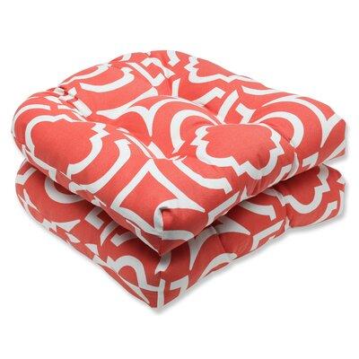 Carmody Outdoor Dining Chair Cushion Fabric: Mango