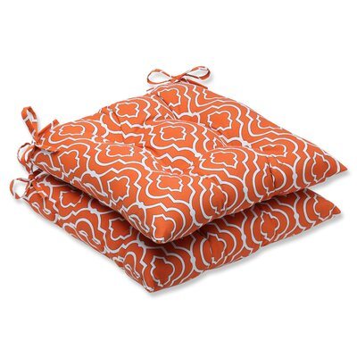 Starlet Outdoor Seat Cushion Fabric: Mandarin