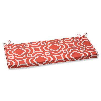 Carmody Outdoor Bench Cushion Fabric: Mango