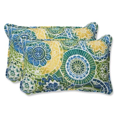 Omnia Indoor/Outdoor Throw Pillow Size: 11.5 H x 18.5 W x 5 D