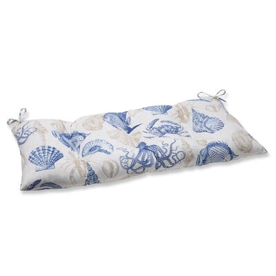 Sealife Outdoor Loveseat Cushion Fabric: Marine