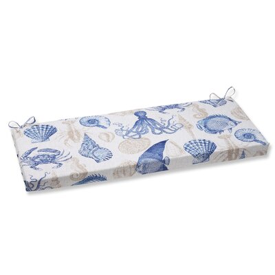 Sealife Outdoor Bench Cushion Fabric: Marine