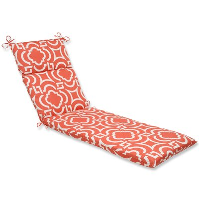 Carmody Outdoor Chaise Lounge Cushion Fabric: Mango