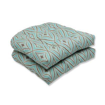 Centro Outdoor Dining Chair Cushions Color: Mist