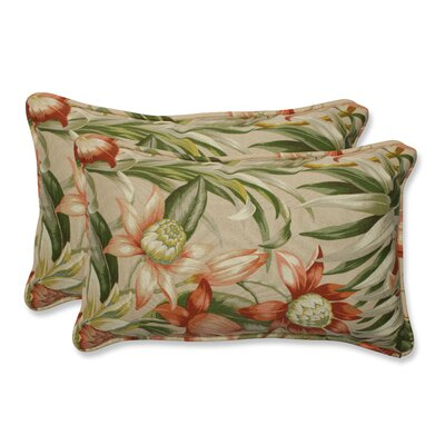 Botanical Glow Indoor/Outdoor Lumbar Pillow Size: 11.5 x 18.5