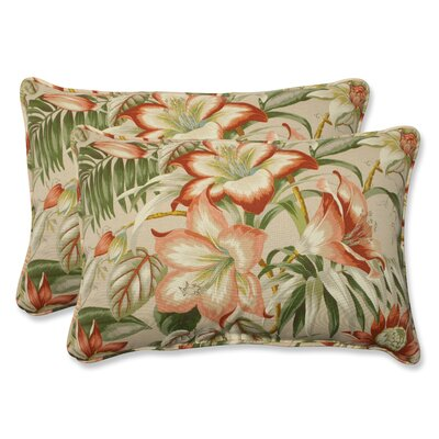Botanical Glow Indoor/Outdoor Lumbar Pillow Size: 16.5 x 24.5