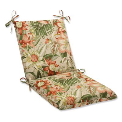 Botanical Glow Outdoor Lounge Chair Cushion