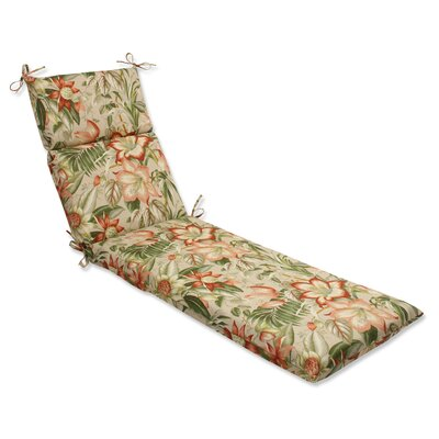 Botanical Glow Outdoor Chaise Lounge Cushion