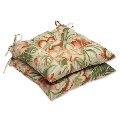 Botanical Glow Outdoor Dining Chair Cushion