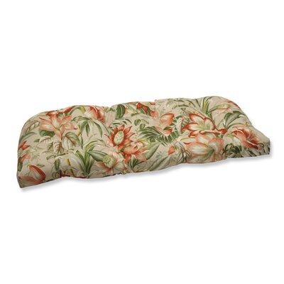 Botanical Glow Outdoor Loveseat Cushion