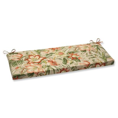 Botanical Glow Outdoor Bench Cushion