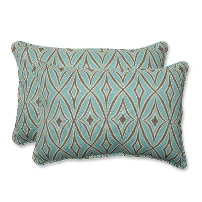Centro Indoor/Outdoor Lumbar Pillow Size: 16.5 x 24.5, Fabric: Mist
