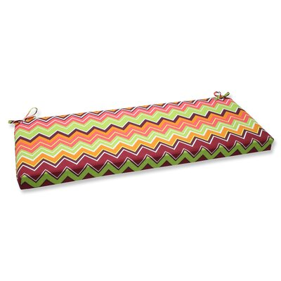 Bayridge Outdoor Bench Cushion Fabric: Raspberry