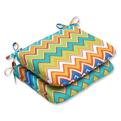 Bayridge Outdoor Seat Cushion Fabric: Orangeaide