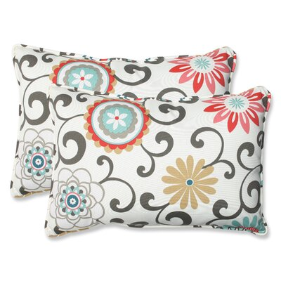 """Pillow Perfect Pom Pom Play Throw Pillow (Set of 2) - Size: 16.5"""" x 24.5"""" at Sears.com"""