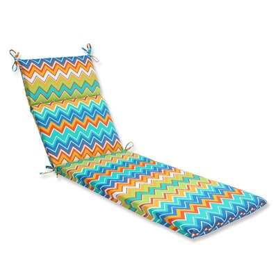 Bayridge Outdoor Chaise Lounge Cushion Fabric: Orangeaide