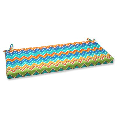 Bayridge Outdoor Bench Cushion Fabric: Orangeaide
