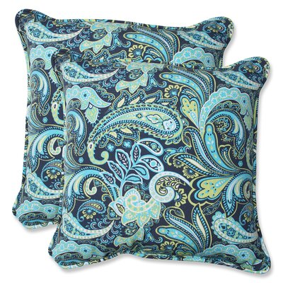 Pretty Indoor/Outdoor Throw Pillow
