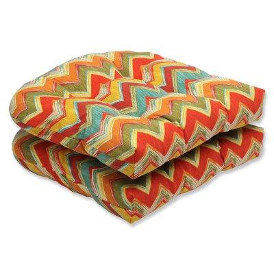 Tamarama Outdoor Dining Chair Cushion Fabric: Multi