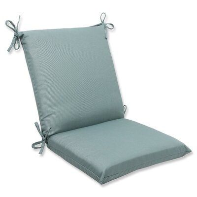 Canvas Outdoor Sunbrella Lounge Chair Cushion Fabric: Spa
