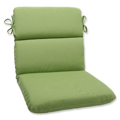Pillow Perfect Canvas Corners Chair Cushion - Fabric: Ginko