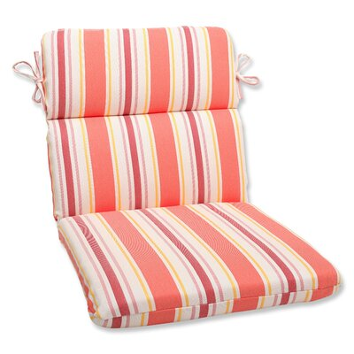 Pillow Perfect Cayman Corners Chair Cushion - Fabric: Sunset