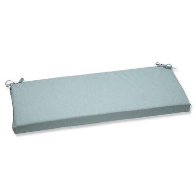 Canvas Outdoor Sunbrella Bench Cushion Fabric: Spa