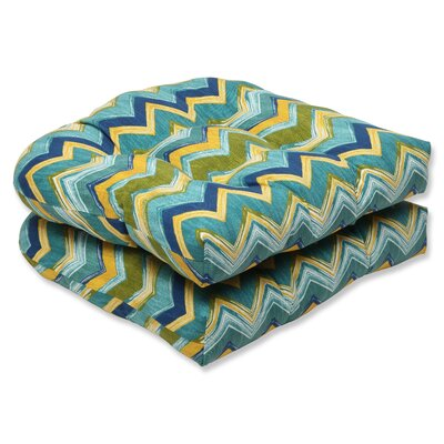 Tamarama Outdoor Dining Chair Cushion Fabric: Meadow