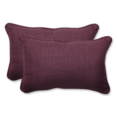 Rave Indoor/Outdoor Lumbar Pillow Size: 11.5 H x 18.5 W x 5 D, Fabric: Vineyard
