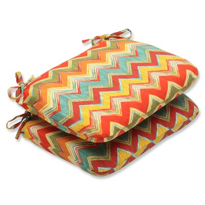 Tamarama Outdoor Dining Chair Cushion Fabric: Multi