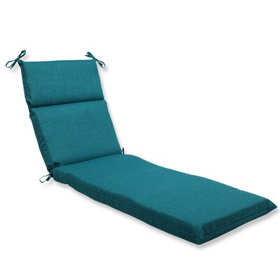 Rave Outdoor Chaise Lounge Cushion Fabric: Teal