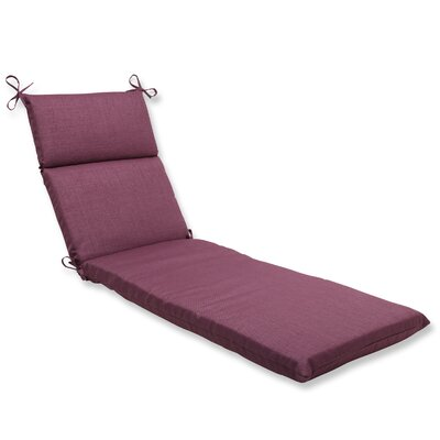 Rave Outdoor Chaise Lounge Cushion Fabric: Vineyard
