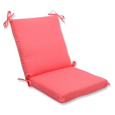Fresco Outdoor Lounge Chair Cushion Fabric: Melon