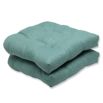 Rave Outdoor Loveseat Cushion Fabric: Surf