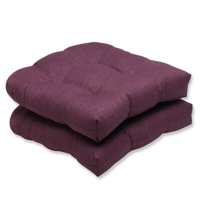 Rave Outdoor Loveseat Cushion Fabric: Vineyard