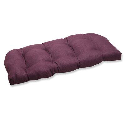 Rave Outdoor Loveseat Cushion Fabric: Vineyard