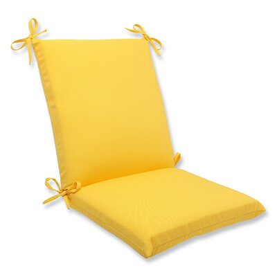 Fresco Outdoor Lounge Chair Cushion Fabric: Yellow