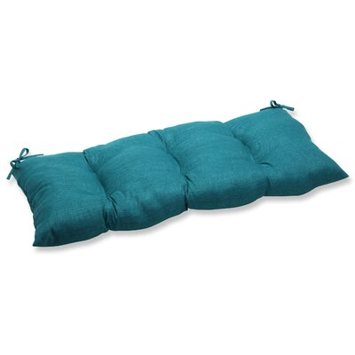 Rave Outdoor Loveseat Cushion Fabric: Teal